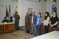 Faxinalenses participam de seleção para o Serviço Militar