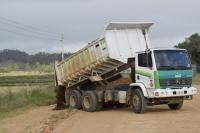 Secretaria de Obras inicia recuperação na ERS 348
