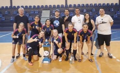 Seleção feminina é vice-campeão em Restinga