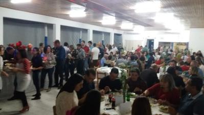 Jantar do Peixe lotou o Esporte Clube Colonial