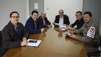 Reunião tratou do cercamento eletrônico da cidade