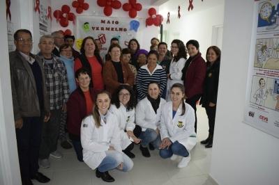Posto de Saúde de Santos Anjos recebeu roda de conversa sobre saúde bucal