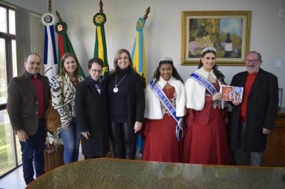 Visita da Comitiva de Dona Francisca