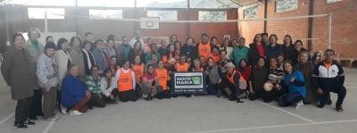 Projeto Viva em Movimento recebeu equipe de Câmbio de Santa Maria