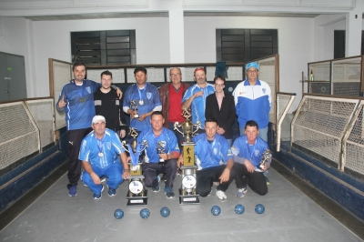 Cruzeiro é campeão e vice da bocha de Faxinal do Soturno