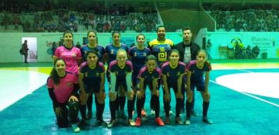 Equipe feminina ficou com o vice-campeonato em Dona Francisca