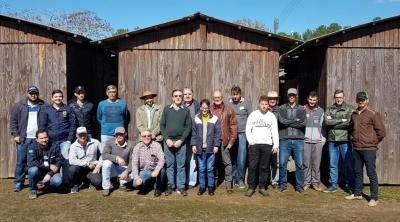 Agricultores faxinalenses participam de curso de controle de agrotóxicos