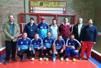 Faxinal do Soturno é campeão do Interseleções de Bocha em Nova Palma