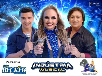 Banda Indústria Musical fará show na Praça nesta sexta-feira (16)