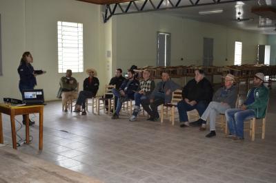 Agricultura e Emater realizam reuniões do Plano Safra 2019/2020