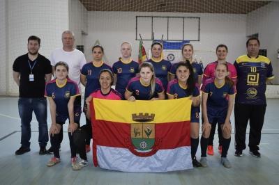 Faxinal é vice-campeã do Interseleções de Futsal Feminino