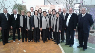 Coral Santa Cecília participou de encontro em Alto Alegre