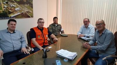 Novo coordenador regional da Defesa Civil esteve em Faxinal do Soturno