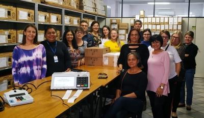 Comissão eleitoral e candidatas ao Conselho Tutelar realizam auditoria das urnas