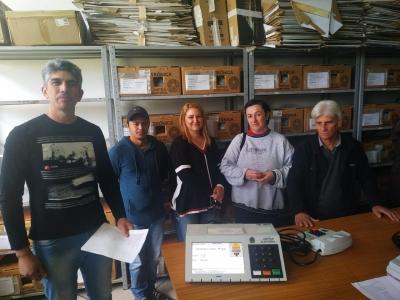 Mesários participam de treinamento para as eleições do Conselho Tutelar