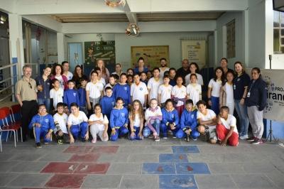 Nova gerente do Banco do Brasil visita o programa AABB Comunidade