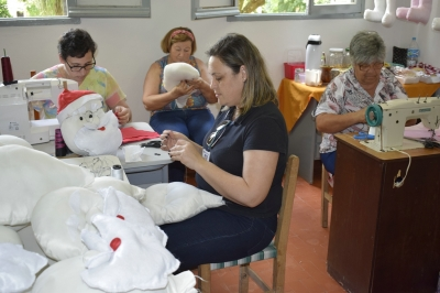 De terapia e amor, o artesanato se faz presente no Natal