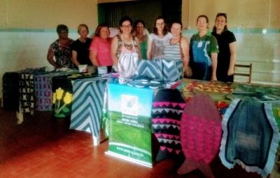 Agricultoras participam de curso de costura do Senar