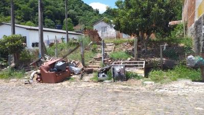 Agricultura realiza mutirão de recolhimento de lixo