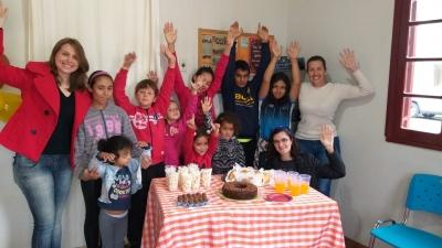 CREAS realiza festa em comemoração ao Dia da Criança