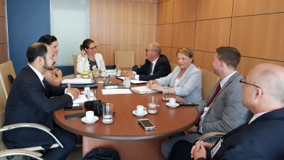 Prefeito Clovis Alberto Montagner cumpre agenda em Brasília