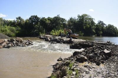 Secretaria de Obras inicia recuperação da segunda barragem