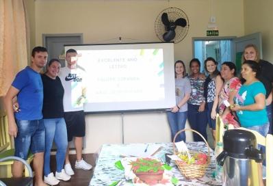 Equipes do Projeto Ciranda e AABB Comunidade se reúnem para planejar o ano