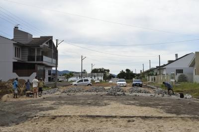 Mais duas ruas recebem calçamento em Faxinal do Soturno