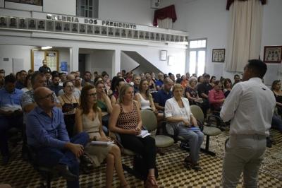 Reunião marca a formação do Conselho Gestor do Geoparque da Quarta Colônia