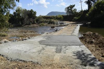 Concluída recuperação das barragens do Mosquito e Pique