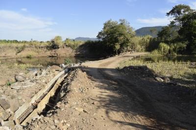 Secretaria de Obras retoma recuperação de barragem no Sítio dos Mellos