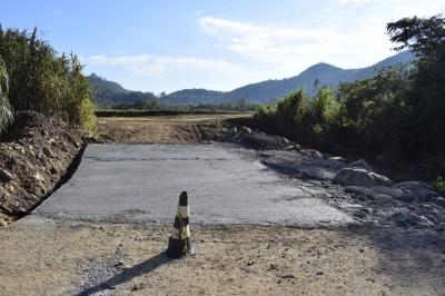 Barragem do Tope, em Sítio dos Mellos, concluiu o cronograma inicial de recuperações
