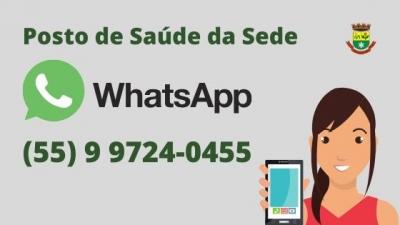 Posto de Saúde conta com WhatsApp