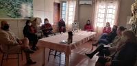Prefeito Clovis participa de reunião na Educação