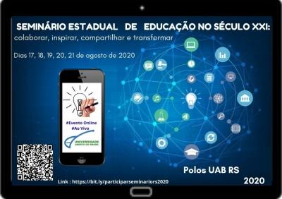 Polo UAB realiza Seminário Estadual de Educação do Século XXI