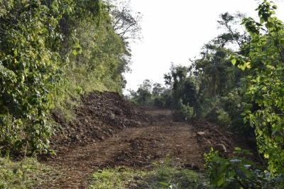 Secretaria de Obras reabre estrada na Vila dos Gonçalves
