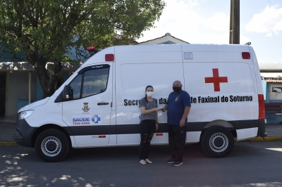 Saúde adquire nova ambulância