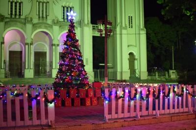 Decoração natalina embeleza a cidade