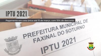 Guias do IPTU serão entregues a partir de quarta-feira (17)