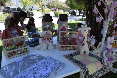 Exposição de artesanato e oficina de patchwork marcam a programação do aniversário do Município