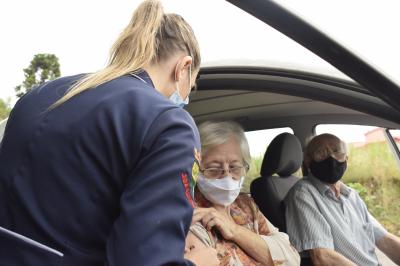 Mais de 1200 pessoas já foram vacinadas em Faxinal do Soturno