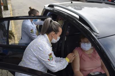 Mais de 1500 pessoas já receberam a primeira dose da vacina em Faxinal do Soturno