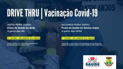 Faxinal do Soturno receberá mais 180 doses da vacina contra a Covid-19
