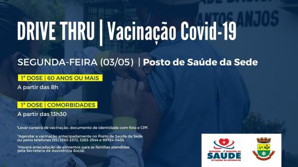 Faxinal vai retomar a vacinação contra a Covid-19 segunda-feira (3)