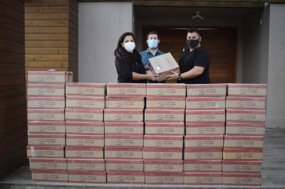 Assistência Social recebe 50 kits de alimentos do Ministério Engel