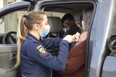 Mais 250 doses da vacina contra Covid-19 foram aplicadas em Faxinal