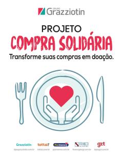 "GZT Por Menos + Tottal realiza projeto ""Compra Solidária"""