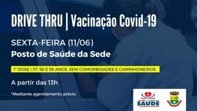 Saúde amplia vacinação contra Covid-19 para pessoas com 57, 58 e 59 anos sem comorbidades