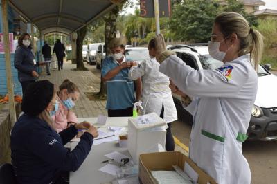 Mais 240 pessoas imunizadas contra a Covid-19 em Faxinal do Soturno