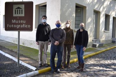 Comitiva da UFSM visita museus de Faxinal do Soturno